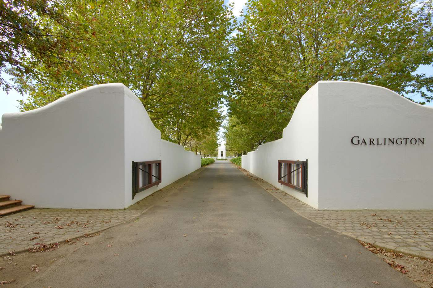 The entrance to our beautiful Estate