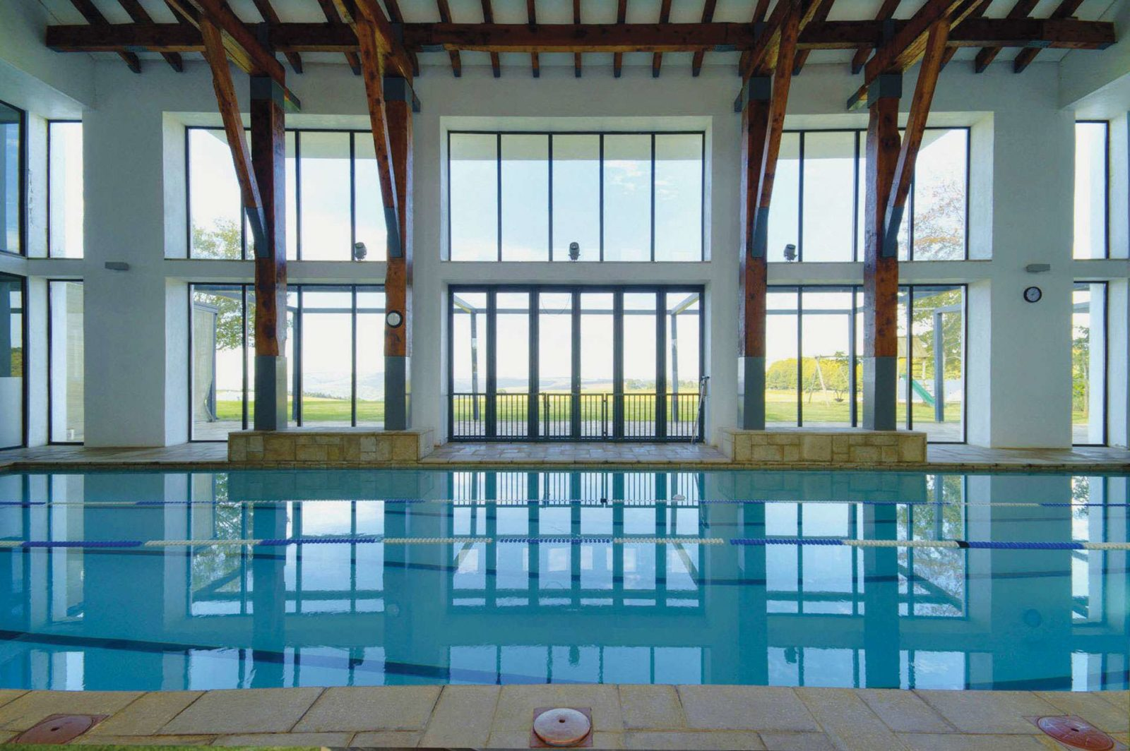 Our magnificent heated indoor swimming pool